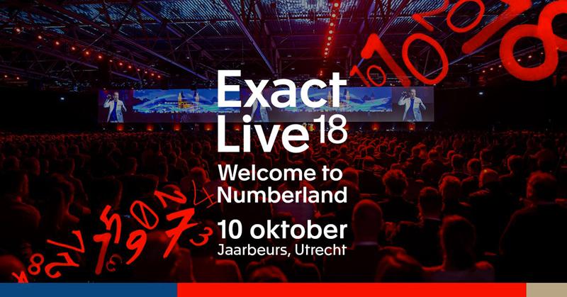 FlanQ aanwezig bij Exact Live 2018