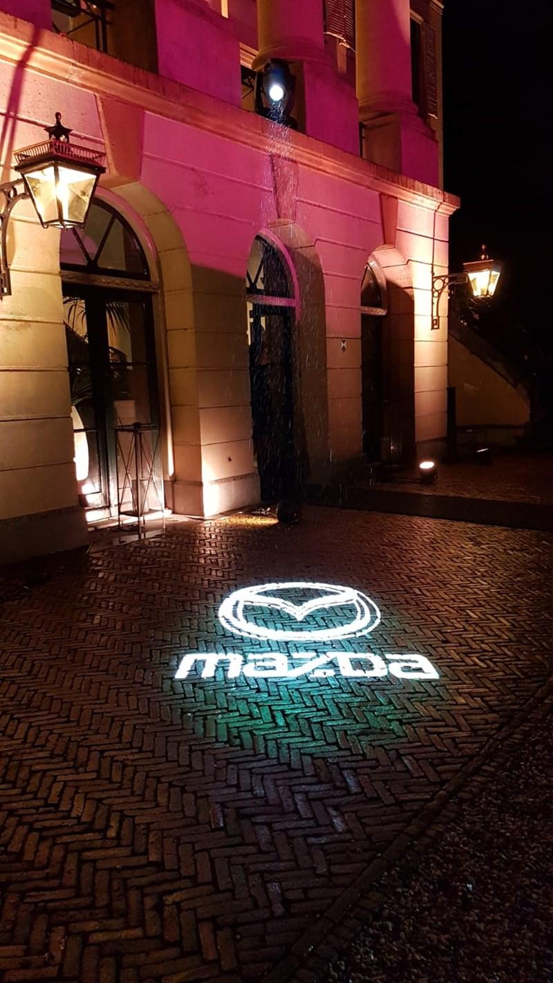 FlanQ bij de presentatie van de nieuwe Mazda 3