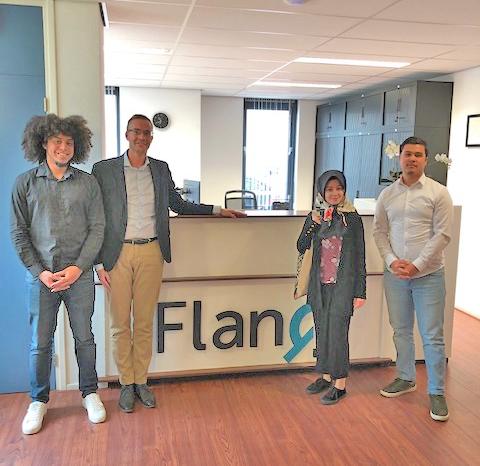 Bedrijfsbezoek bij FlanQ